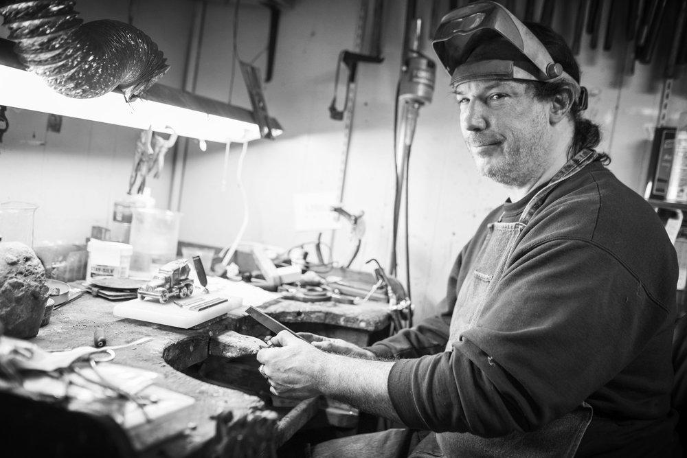 Stephen Pier: Jeweler, Polisher, All-Around-Nice-Guy.