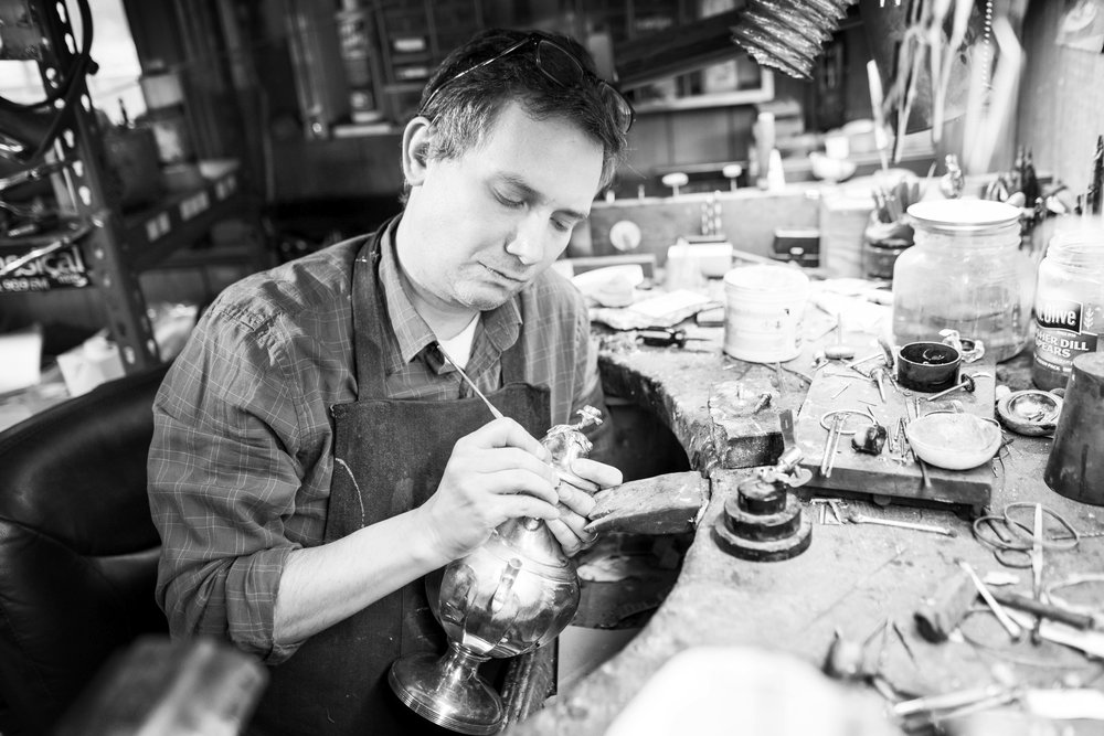 Lawrence Miller: Silversmith Extraordinaire.