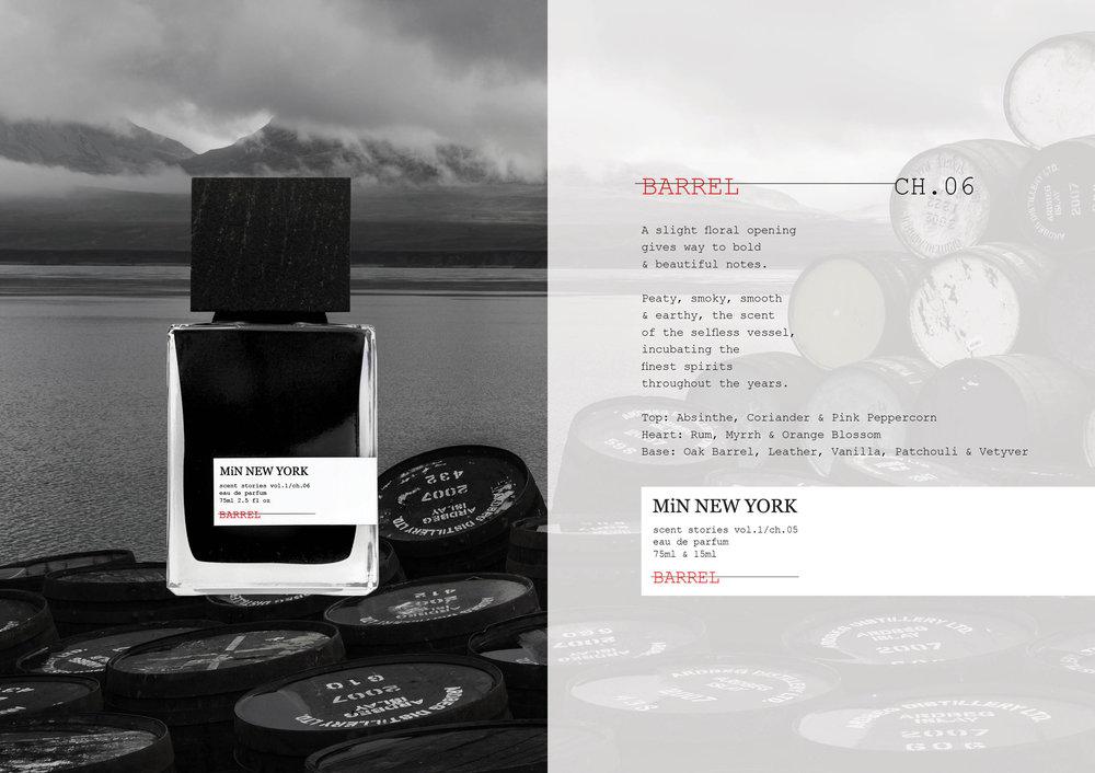 Chad Murawczyk MiN New York Scent Stories Barrel