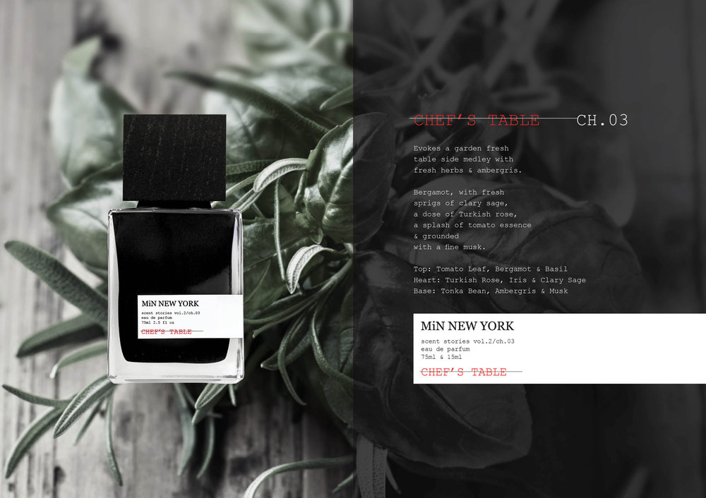 Chad Murawczyk MiN New York Scent Stories Chef's table