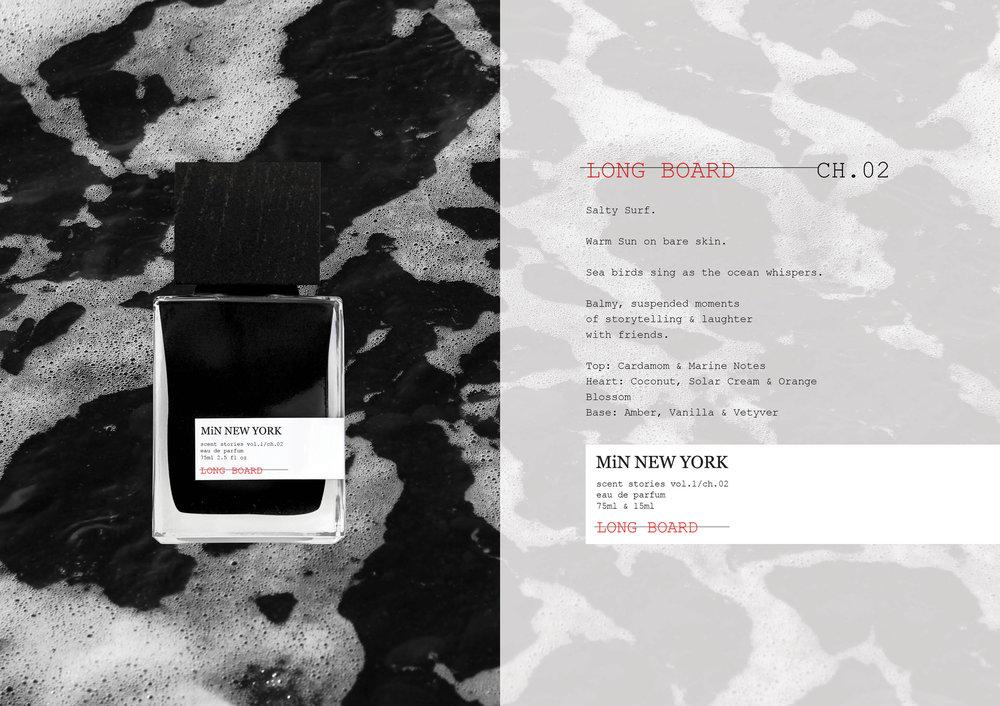 Chad Murawczyk MiN New York Scent Stories Long Board