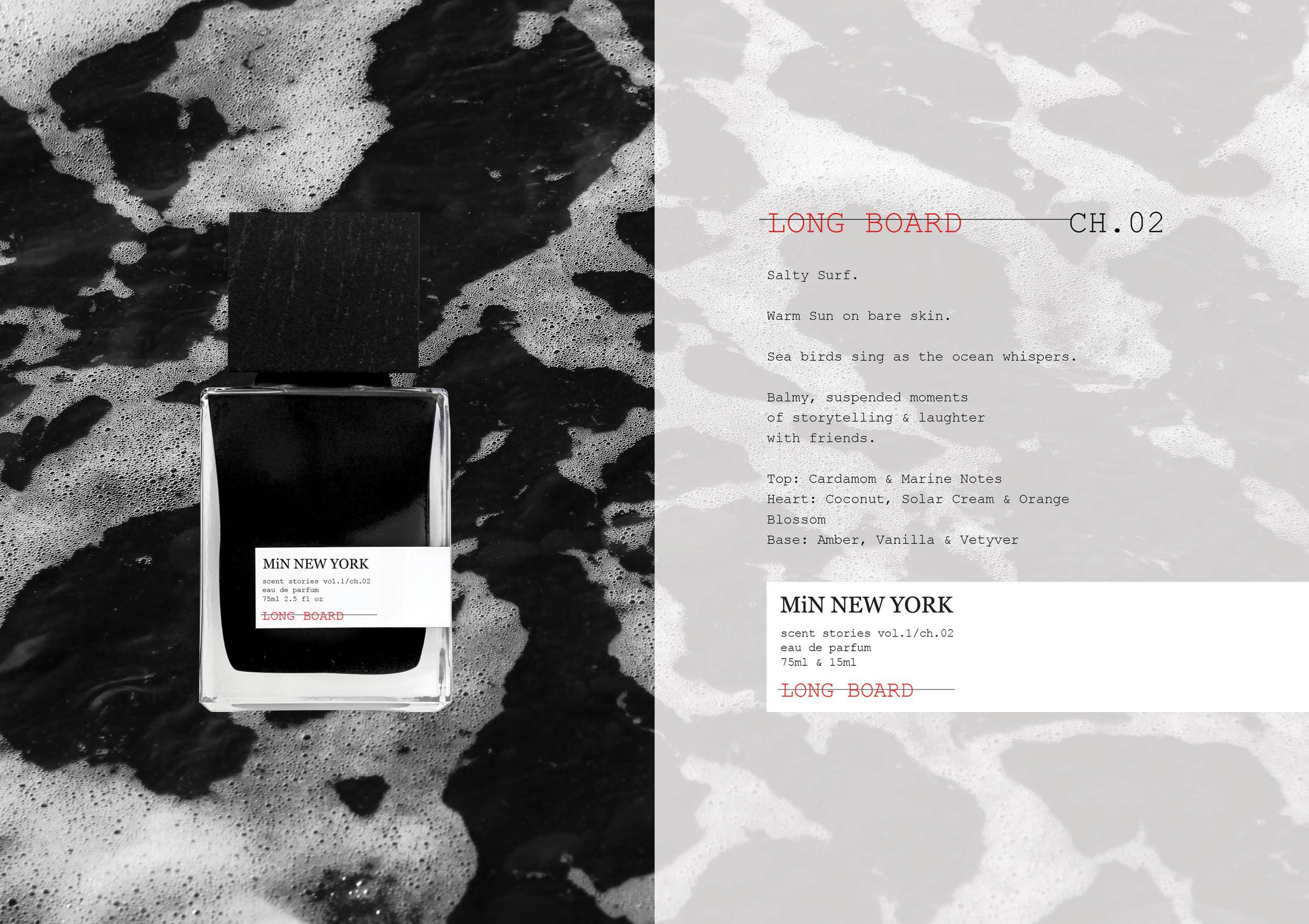 b2ac18da3f9b Chad Murawczyk MiN New York Scent Stories Long Board