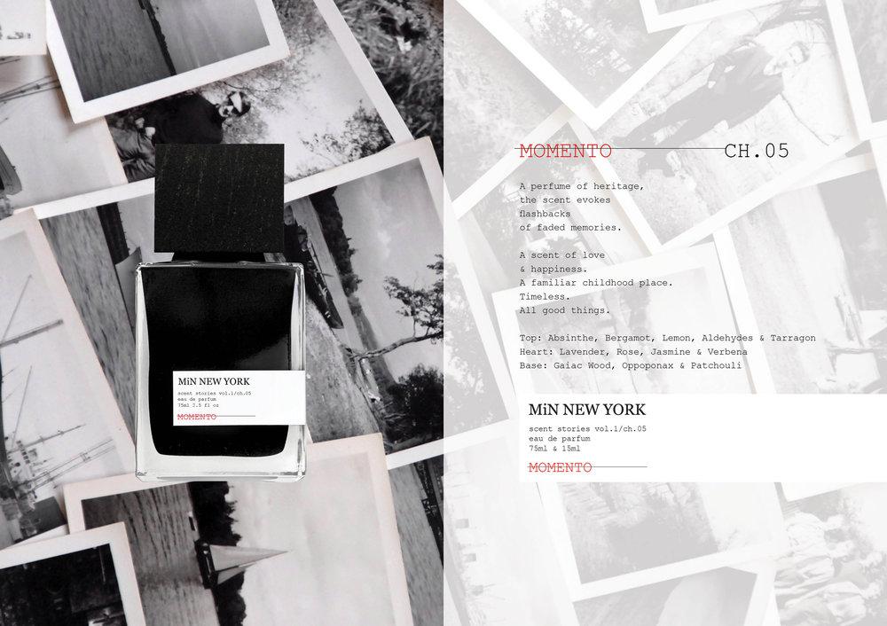 Chad Murawczyk MiN New York Scent Stories Momento