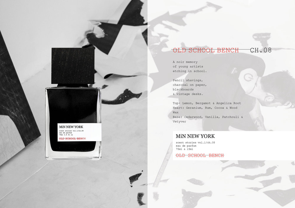Chad Murawczyk MiN New York Scent Stories Old School Bench