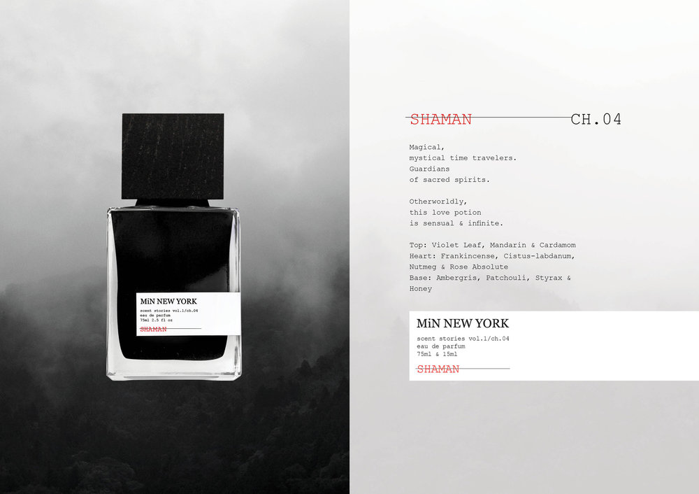 Chad Murawczyk MiN New York Scent Stories Shaman