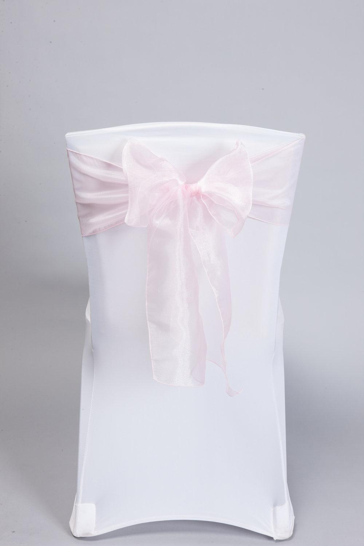 Soft Pink Organza
