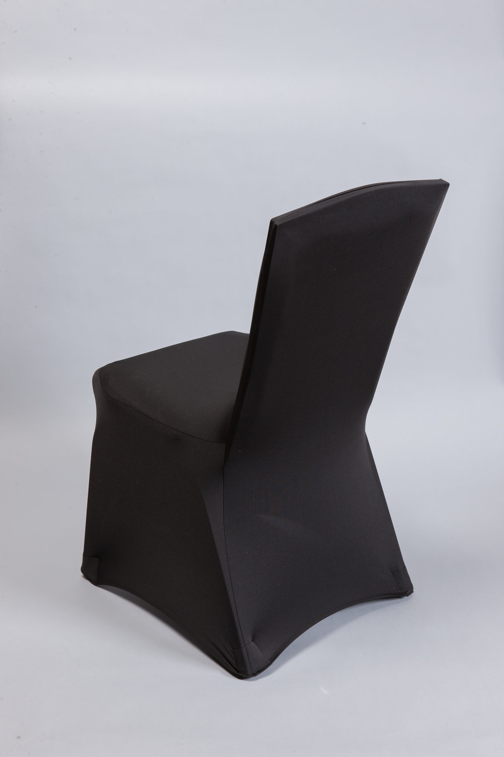 Black Spandex Chair Cover