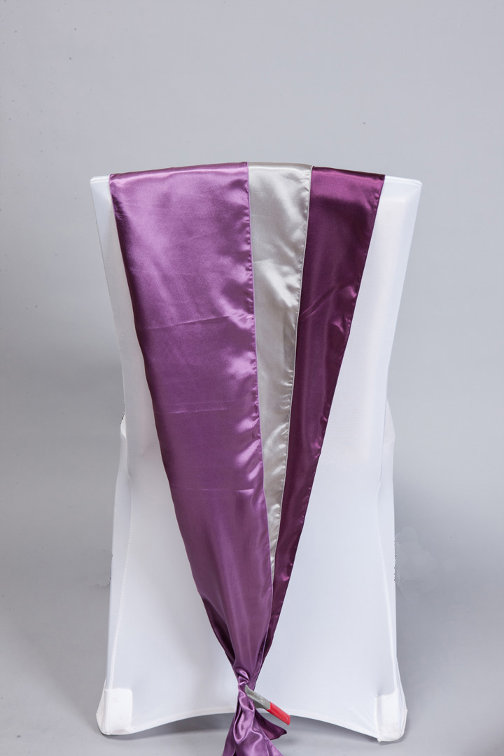 Purple, Lavender & Eggplant Satin