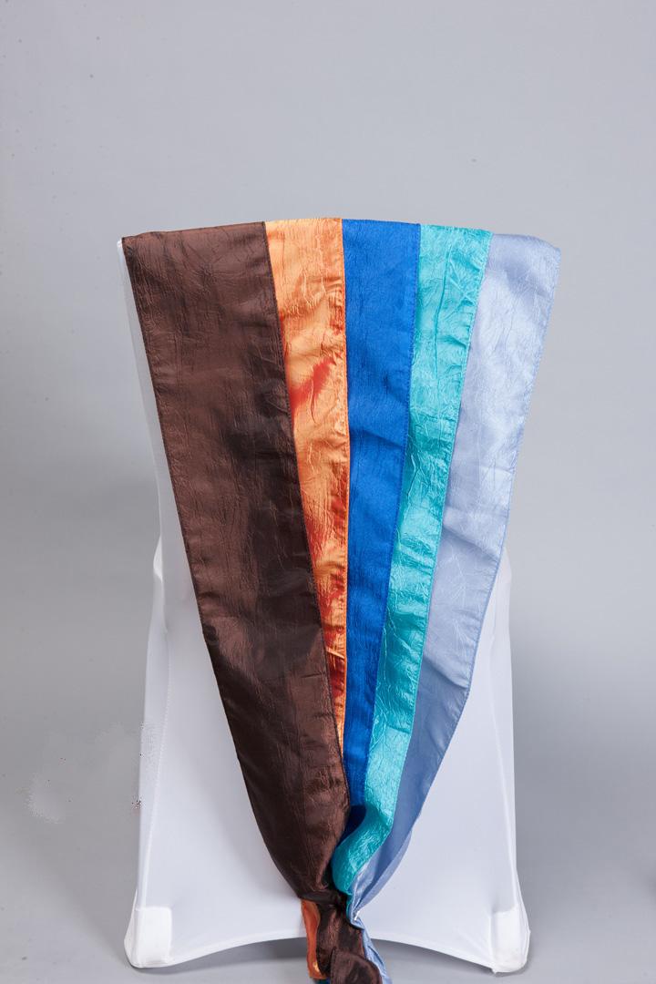 Brown, Orange, Royal Blue, Light Blue, Periwinkle