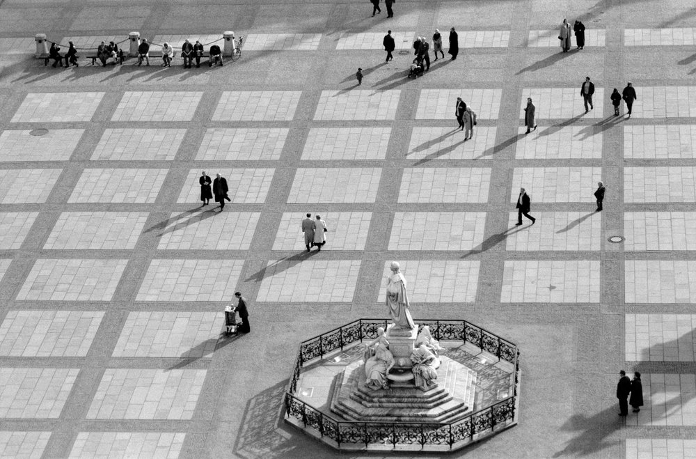 Ein Fotograf kommt selten allein