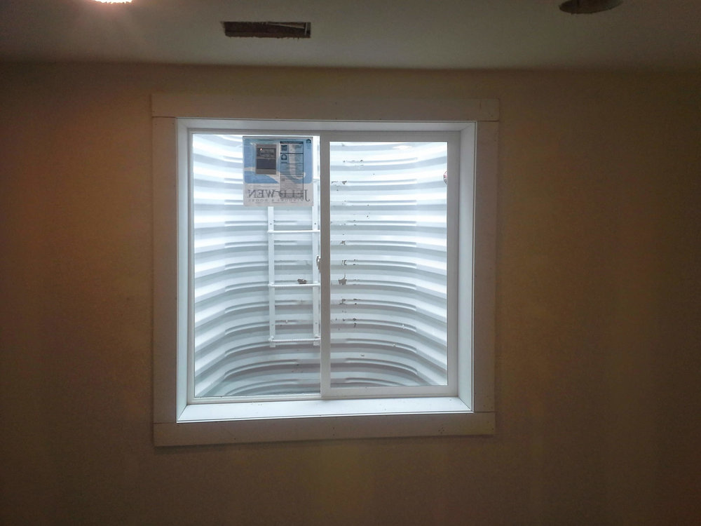 3 after basement window installation 3.jpg & Basement Escape | Basement Egress Window Installation in Colorado