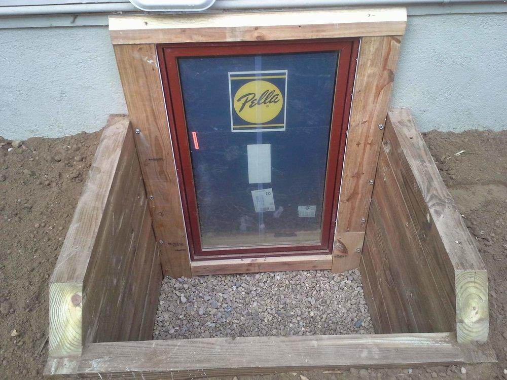 Timber Window Wells