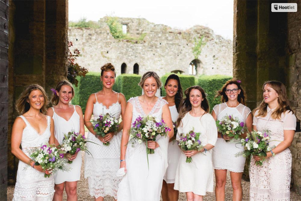 Jemma & her Bridesmaids