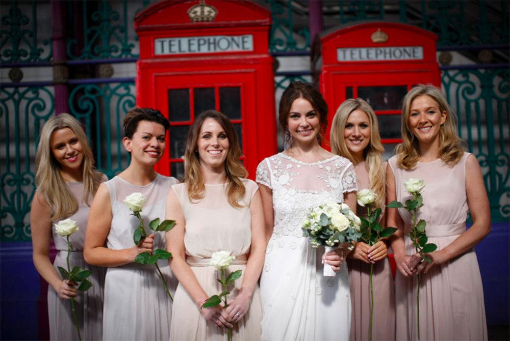 Emma & her Bridesmaids