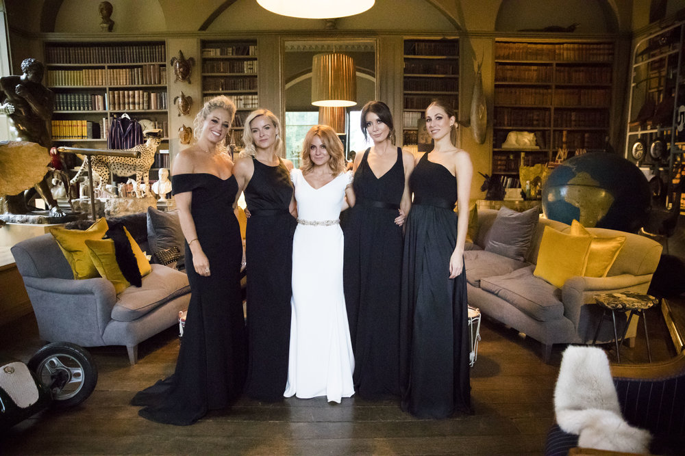 Sue & her Bridesmaids