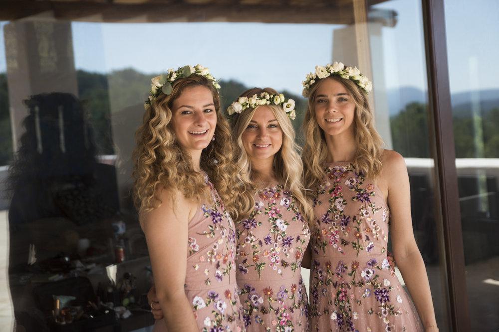 Abigail's bridesmaids
