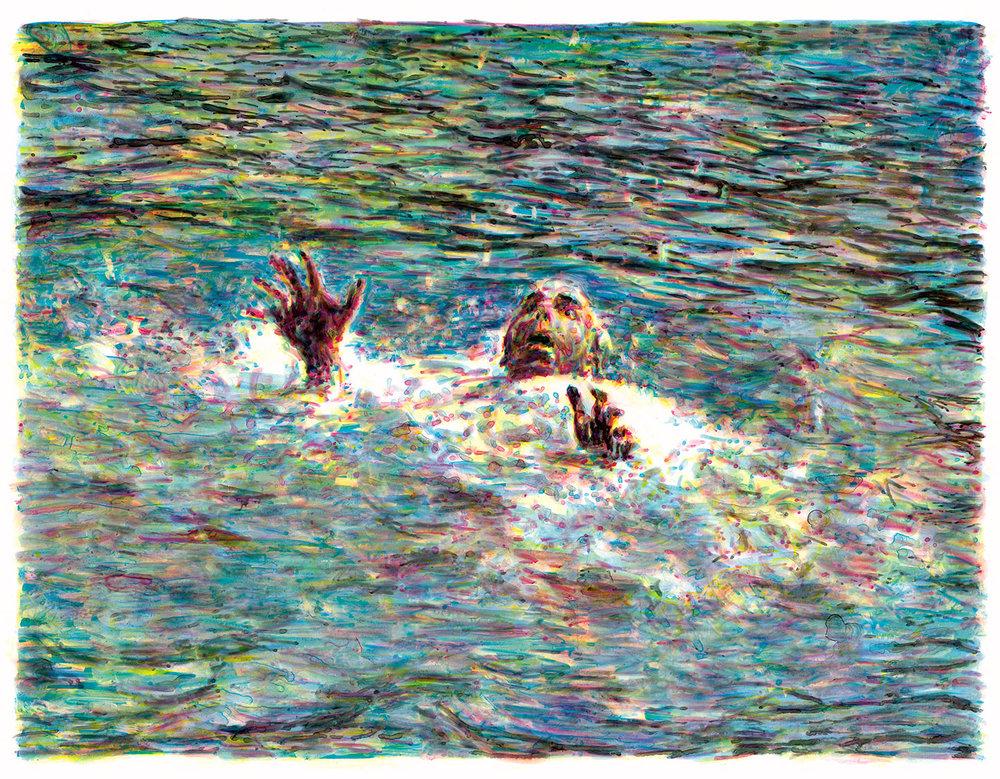 Noyade (Drowning), 2008