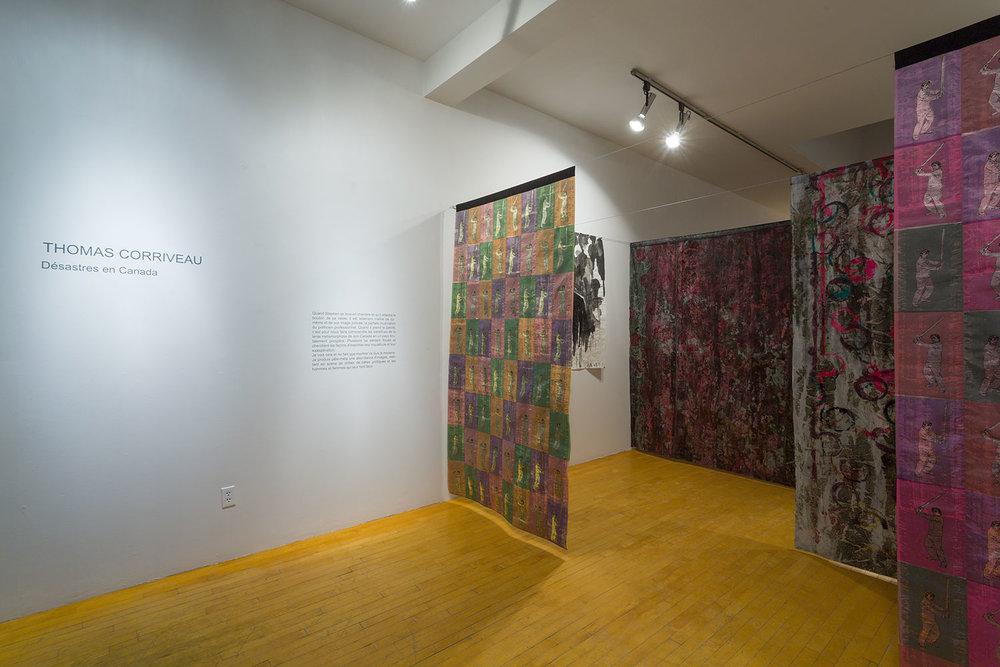 Désastres en Canada, Galerie Graff, février 2014