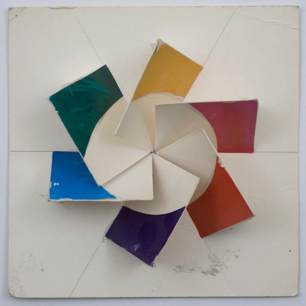 Maquette : 6 couleurs (Model: 6 colors), 1997