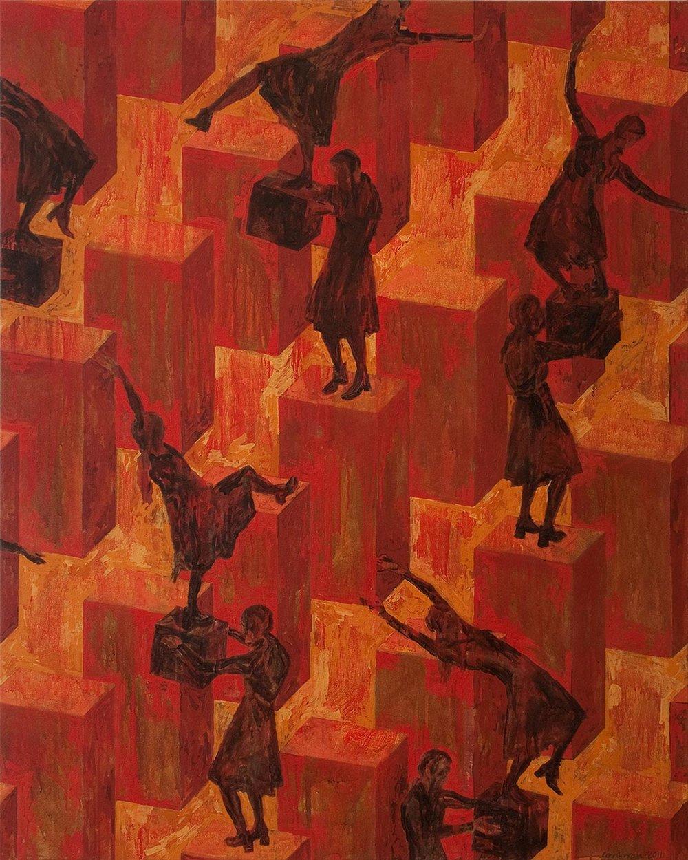 Figures sans ombre: déséquilibres / Shadowless Figures: Off Balance (2011)