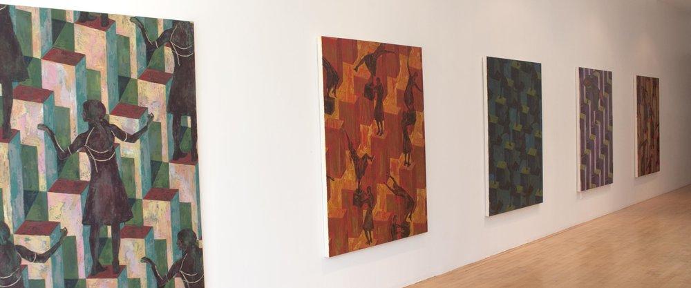 Sauts et vertiges , Galerie Graff, Montréal, 2011 (vue de l'exposition /  exhibition view )