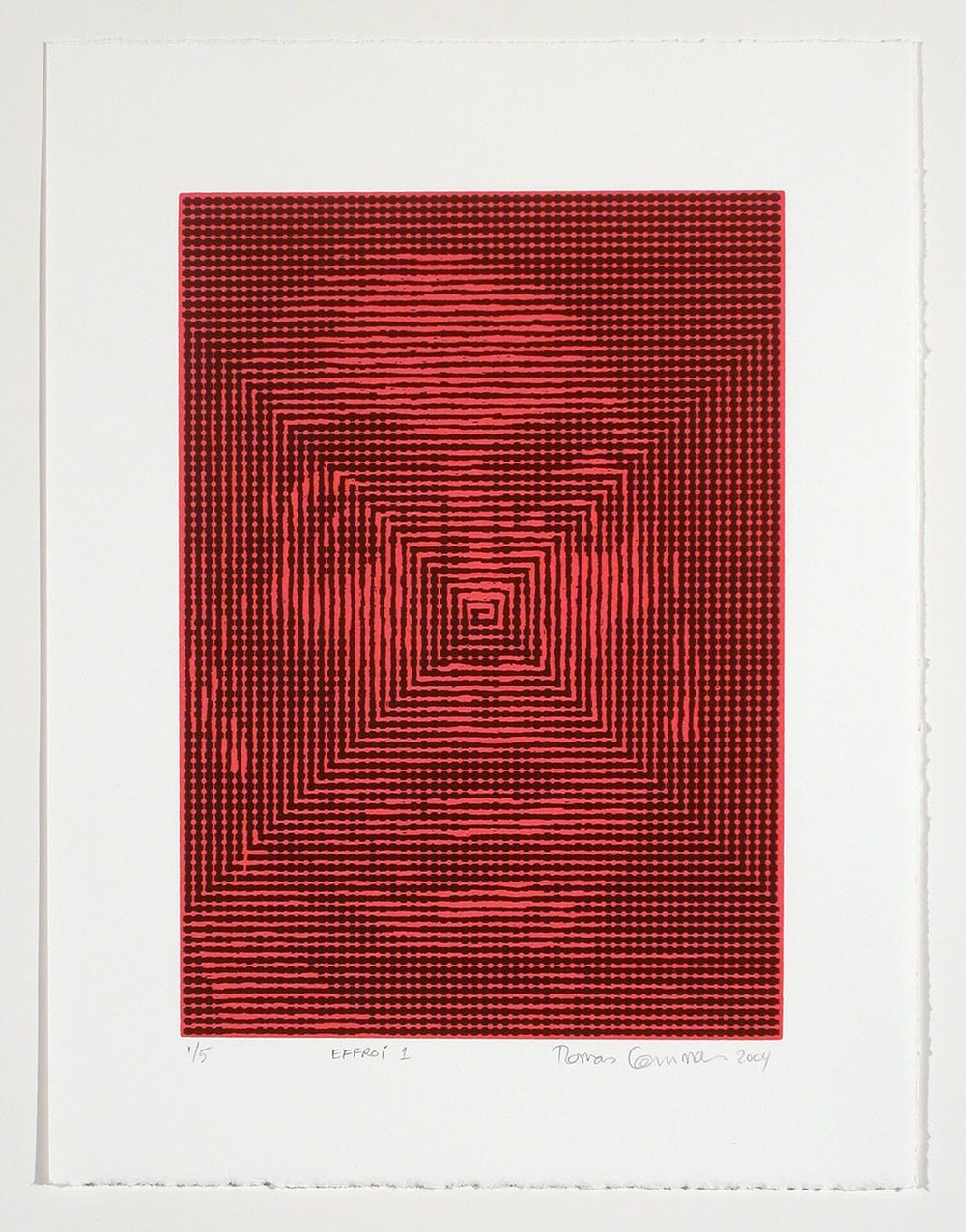 Effroi 1 (Fear 1), 2004
