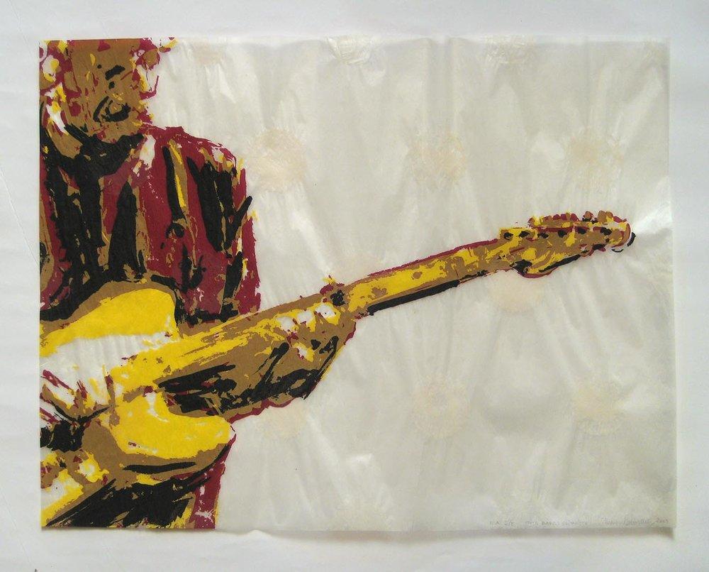 Mots blancs : guitariste (White Words: Guitarist), 2009