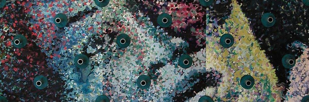 Trouées 3 / Holes 3 , 2002 (détail/ detail )