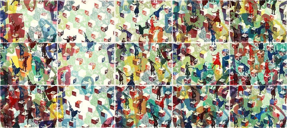 Longtemps l'errance: grand ensemble ABC / Wandering: large series ABC, 2011