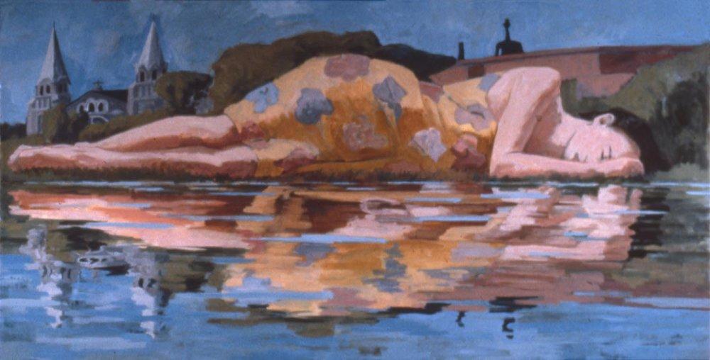 Une femme endormie... (A Woman Asleep…) #1, 1985