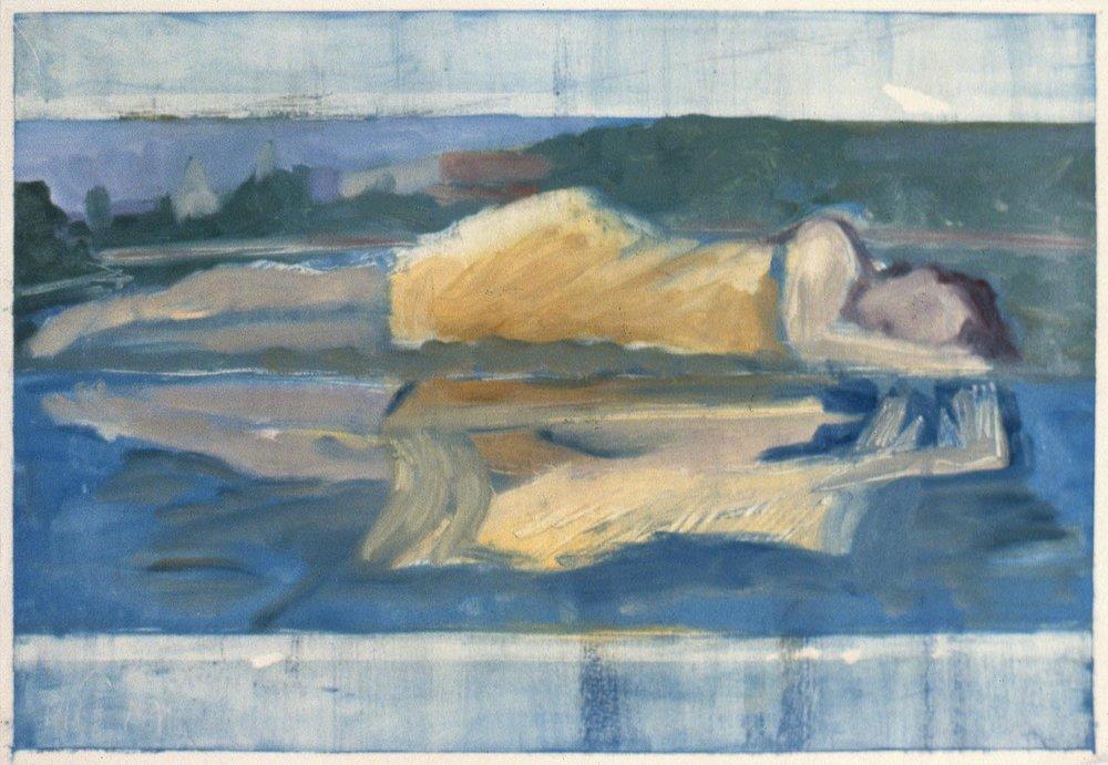Une femme endormie... (A Woman Asleep…) #2, 1985