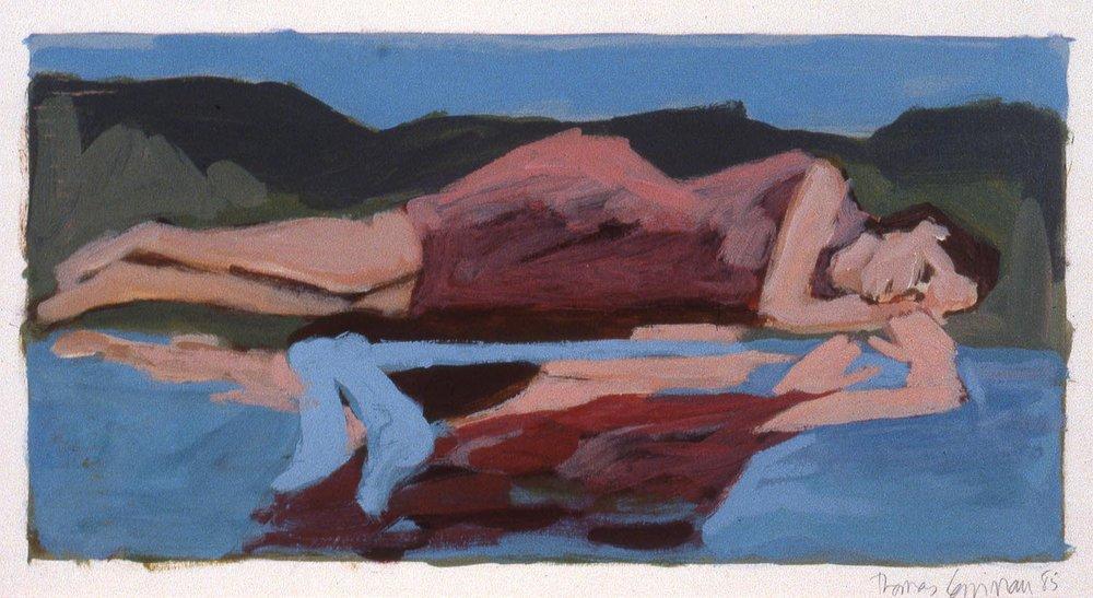 Une femme endormie... (A Woman Asleep…) #3, 1985