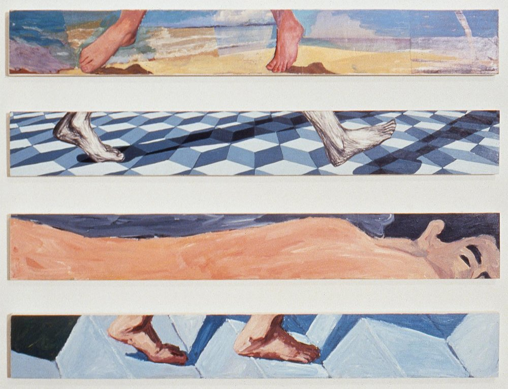 sans titre (untitled), 1988 (pieds/feet)