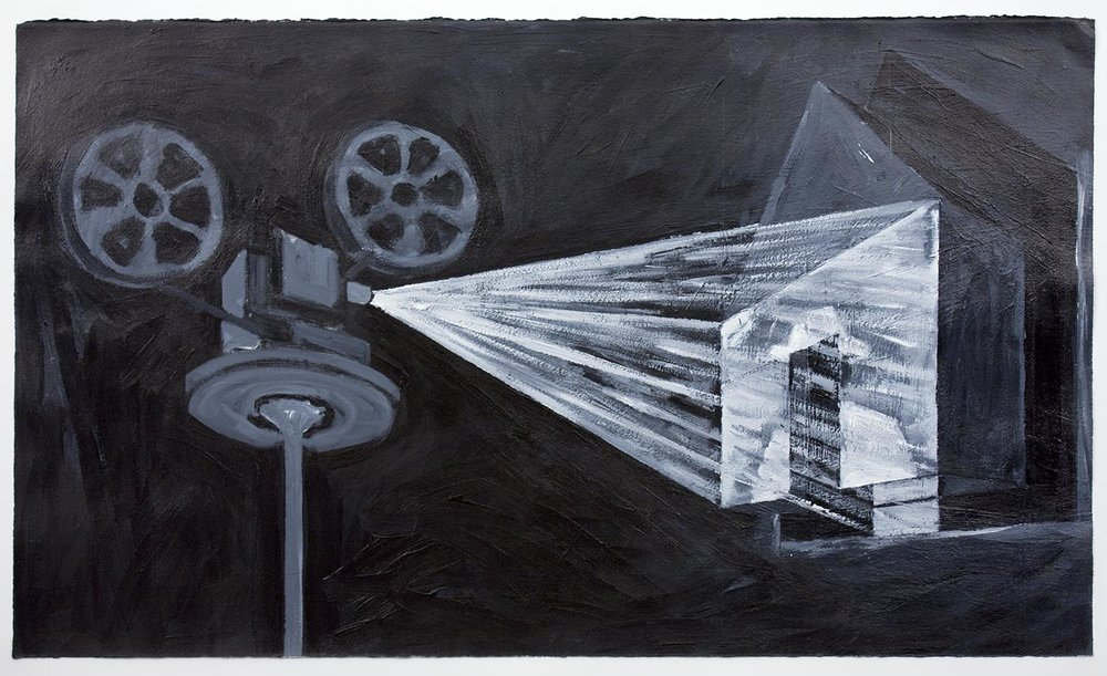Projection sur une maison (Projection On A House), 1990