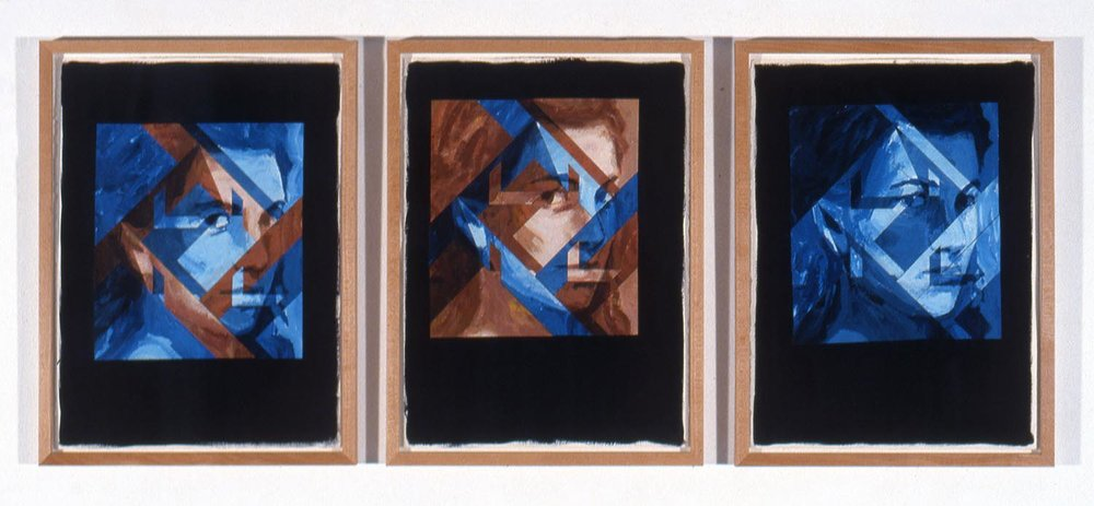 Tête entre quatre murs (Head Between Four Walls), 1989