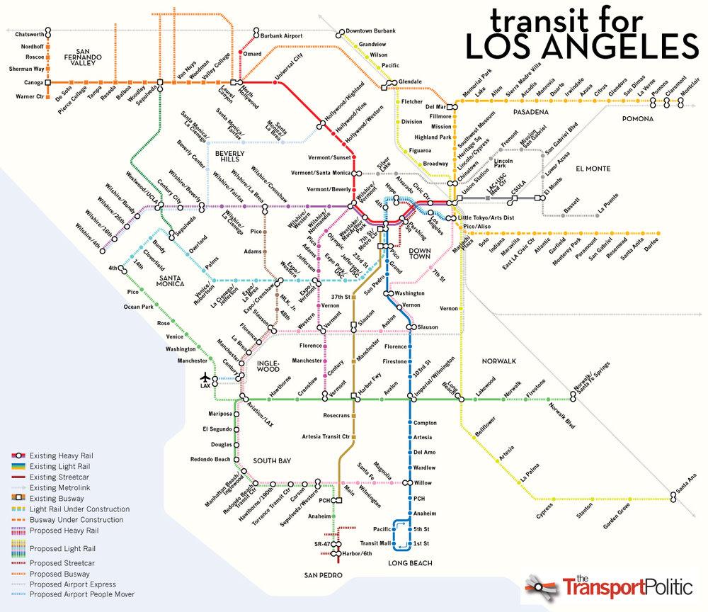 Réseaux des metros (ou RER géants, car les distances ne sont pas les memes qu'en Île-de-France hein)