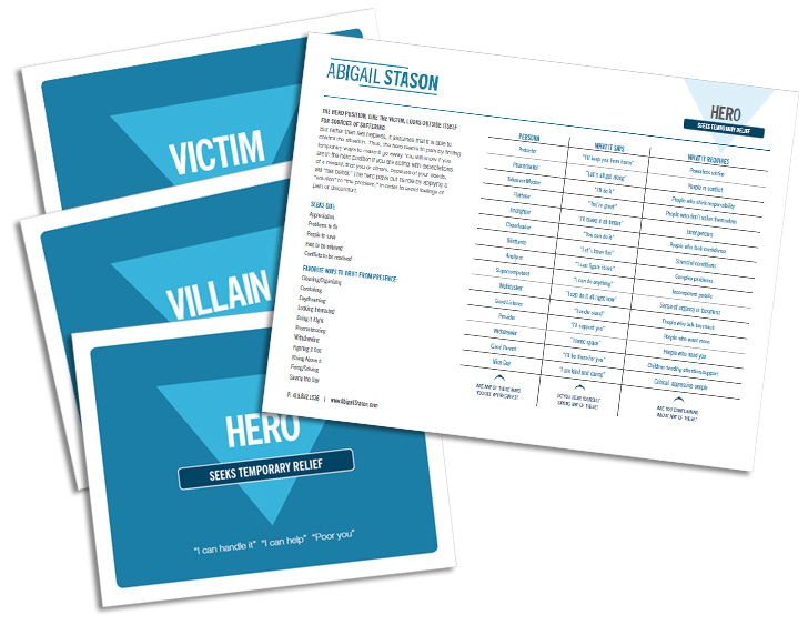 Present / Not Present   (PDF) Presence cards to help you learn what role you play