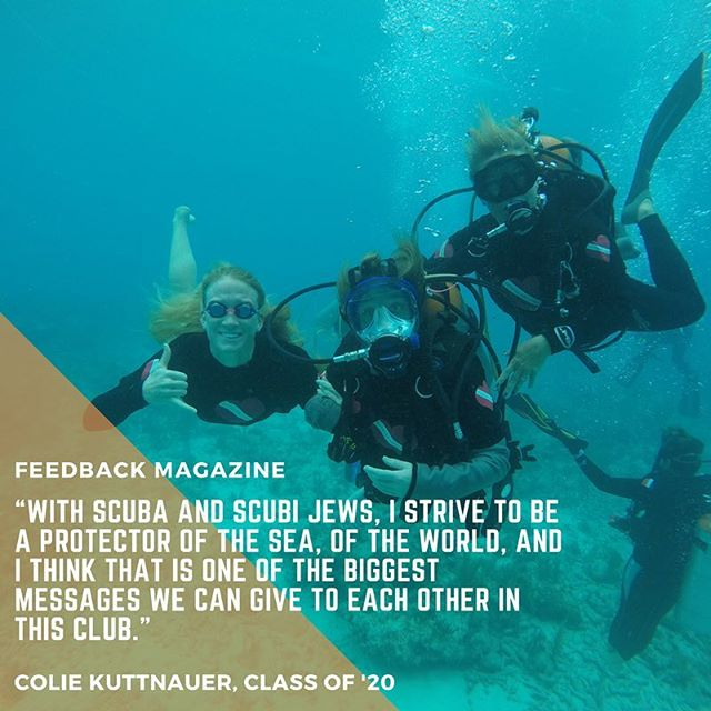 It's DAY 07 of our countdown! Be sure to read our article on the club, EC Environmental Divers: Scubi Jew once the magazine is published! #DAY07