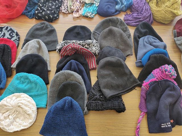 Were you surprised with the snow this morning?! So were we! Come by the Regenesis Free Store on Tuesday from 11:00 AM- 3:00 PM for your free hats and keep warm! Help reduce landfill wastes by reusing clothing items! #sustainablefashion #sustainableliving #zerowaste #yorkuniversity #free #reducereuserecycle #yorku #freestore #free