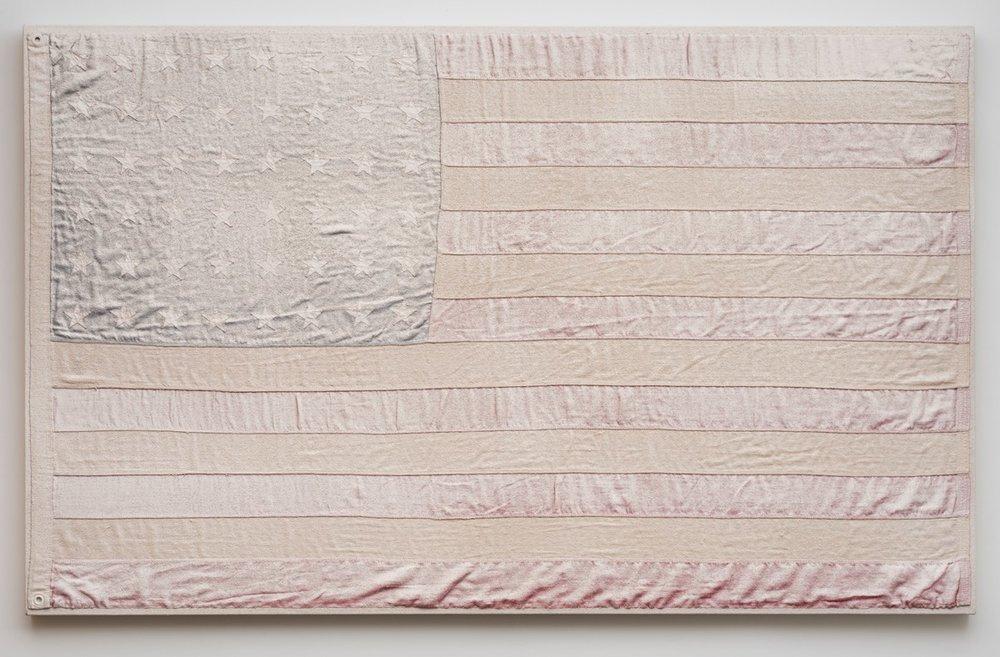 "AA Bronson, ""White Flag #2,"" 2015"