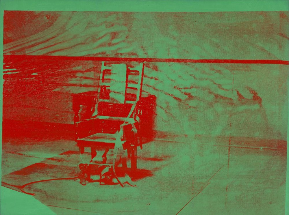 "Andy Warhol. ""Big Electric Chair,"" 1967-68"