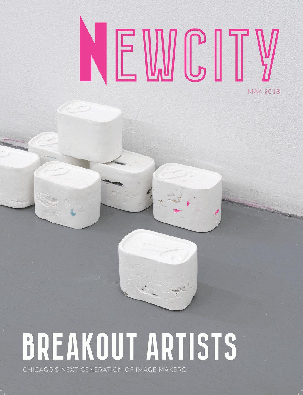 Newcity April 2018/ Cover by  Hương Ngô
