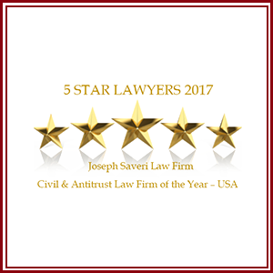Five Star Lawyers 2017 recognized PAG.LAW as one of the most prestigious law firms in the United States within the corporate area.