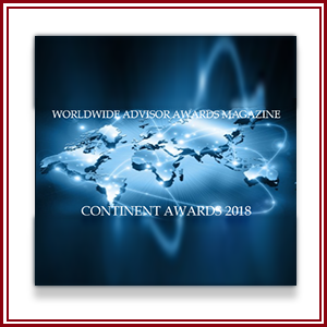 "The prestigious publication Worldwide Advisor Awards Magazine has publicly announced its 2018 Edition of the ""Continental Awards"". We are happy to announce that our law firm has been named      ""CORPORATE LAW FIRM OF THE YEAR - USA"""