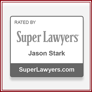 Jason Stark  was named in the Super Lawyers List for consecutive year.