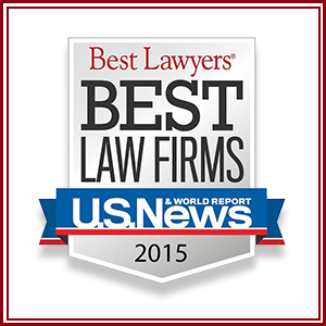 "U.S. News & World Report and Best Lawyers announce the 2015 ""Best Law Firms"" rankings. Our firm was named as a 2015 ""Best Law Firm"" – Tier 1 in Corporate Law, Derivatives and Futures Law, and Securitization and Structured Finance Law"