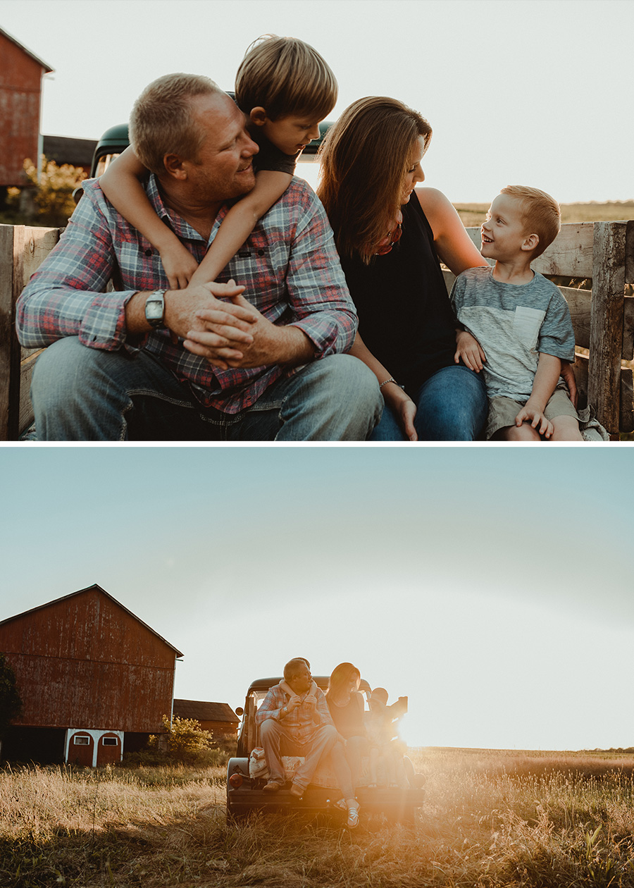 Queen Anne's Lace Golden Hour Session [Terry Farms Photography]