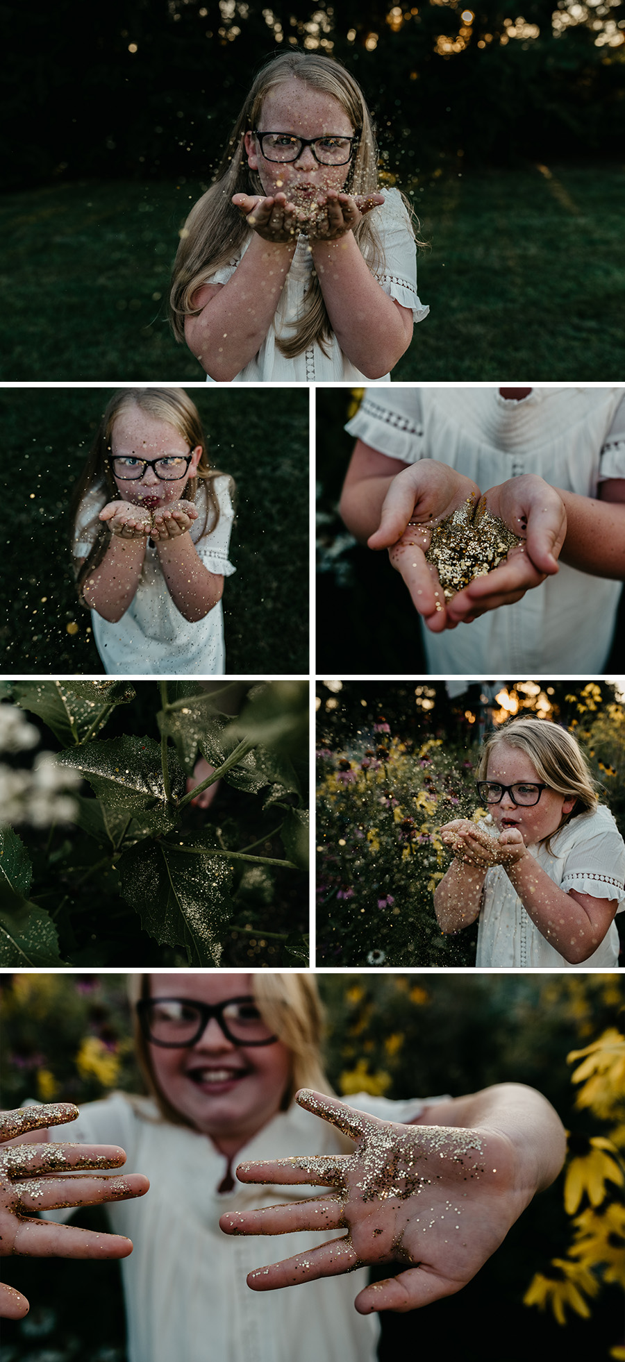 Garden Glitter Session [Terry Farms Photography]