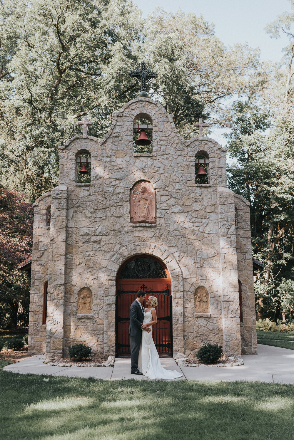 Gorgeous Rustic Small Chapel Wedding [Terry Farms Photography]
