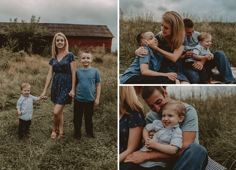 Rustic Summer Farm Family Session | Terry Farms Photography